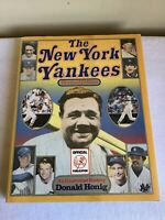 Vintage 1987 HCDJ The New York Yankees Revised Edition Donald Honig USA