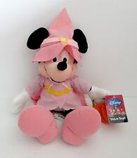 "Disney Trick Or Treat Plush Stuffed 14"" Minnie Mouse Doll"