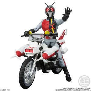 Japan Rare Bandai Shokugan Shodo-X Kamen Rider X Action Figure with Cruiser Set