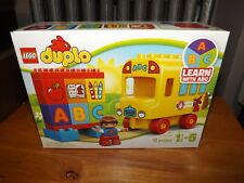 LEGO DUPLO, MY FIRST BUS, KIT #10603, 17 PIECES, NIB, 2015