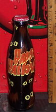 2010 WORLD OF COCA COLA HAPPY HALLOWEEN  WRAPPED 8 OUNCE GLASS COCA COLA BOTTLE