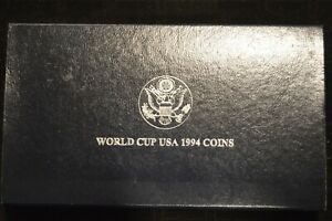 1994 World Cup Commemorative Two Coin Set- Proof - San Francisco