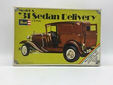 Revell H-1204-200 31 Model A Sedan Delivery Car Model Kit 1/25 Open Box Unbuilt