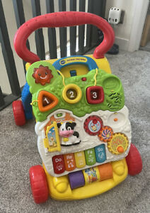 Vtech First Steps Baby Walker Complete With Phone