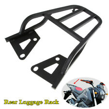 Motorcycle Luggage Rack Tail Seat Extension Rear Cargo Carrier Tool Box Bracket
