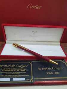 Cartier Ballpoint Pen  must de Cartier