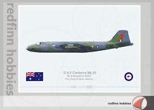 Warhead Illustrated Canberra Mk.20 RAAF 2Sqn 232 Vietnam War Aircraft Print
