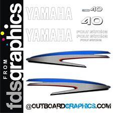 Motor Fuera De Borda Yamaha 40hp de cuatro tiempos calcomanías/Kit de la etiqueta engomada