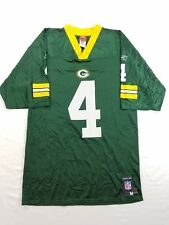 Green Bay Packers Jersey Shirt #4 Brett Favre Reebok NFL Players sz M