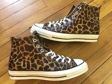 Converse Chuck 70 Pony Hair High Top Giraffe Print Cheetah 164590C Men's 9.5