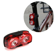 Waterproof LED Cycling Bike Bicycle Taillight Warning Flash Alarm Light Red Lamp