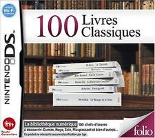 8737 // 100 LIVRES CLASSIQUES NINTENDO DS NEUF EN FRANCAIS