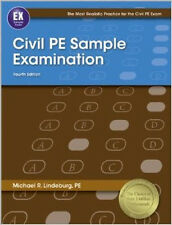Civil PE Sample Examination by PE, Michael R Lindeburg (2012, Paperback, New...