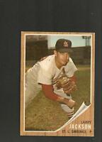 1962 Topps #  83 Larry Jackson  NM