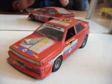 Polistil Audi Coupe Quattro in Red with decals on 1:24
