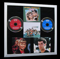 GREASE+The Movie+Travolta+LTD+GALLERY QUALITY FRAMED+FAST WORLD SHIP+Not Signed