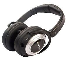 Plane Quiet Platinum Active Noise Canceling Stereo Headphones Air Travel Headset