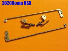 "HP Compaq G60 CQ60 16"" LCD L & R Hinge Hinges Bracket Rail Set GENUINE"