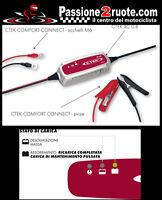 Carica batteria Ctek xc 800 Aprilia Sr max Srv Scarabeo Rs4 Rs125