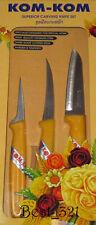Thai Carving Knife - Kom-Kom 2 - Schnitz Messer Set  Markenqualität von Kom-Kom