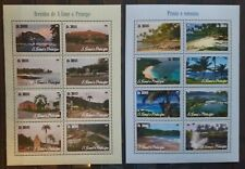 N31.Briefmarken Natur 2014 S.Tome & Principe 2Kb.,postfrisch
