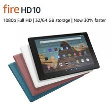Amazon Fire HD 10 (9th Generation) 32GB, Wi-Fi, 10.1in -...