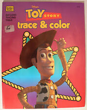 Toy Story RARE 1995 Trace and Color New Book ISBN 030702444