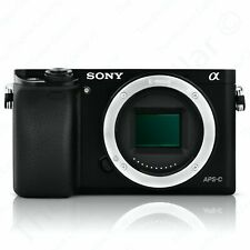 Sony Alpha a6000 Mirrorless Digital Camera ILCE6000B 24.3MP FHD 60FPS WiFi Black