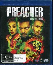 Preacher Season 3 Three NEW Region B