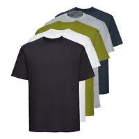 5X Pack Men's Plain T Shirts Cotton Short Sleeves Tee Crew Neck Top Shirt Tee