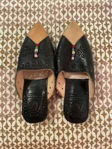 Moroccan Leather Slippers Babouche