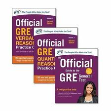Official GRE Super Power Pack by Educational Testing Service (2017, Trade...