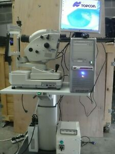 TOPCON MYDRIATIC RETINAL CAMERA TRC-50DX IA WITH PC