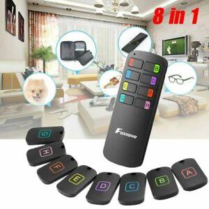 LED Wireless Keyfinder Funk Schlüsselfinder 50 Meter mit 8pcs Empfänger NEU DE
