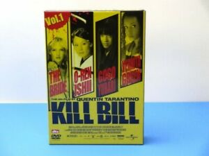 Kill Bill DVD JAPAN TWINPACK SAMURAI UMA THURMAN