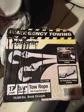 NEW Pro grip  tow rope with hooks 15,000 lbs
