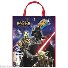2 Star Wars Classic Trilogy Para Niños Partido Plástico tratar Regalo Tote Bags