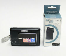 PENTAX Optio Z10 8.0MP Digital Camera black with Battery & Charger