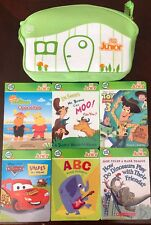 Tag Junior 6 Board Book Lot With Carrying Bag. Cars Toy Story 3 Mr. Brown ABC