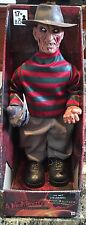 "A Nightmare On Elm Street Animated Freddy Krueger 14""inch Figure With Sound NEW"