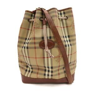 Burberry London Shoulder Bag  Browns PVC 2208109
