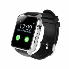 Heart Rate Bluetooth Smart Watch Phone For Android Samsung Galaxy S6 S7 iPhone 7