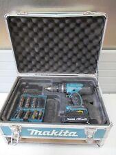 Makita DHP453RFX2 Akku-Schlagbohrschrauber Akku 1,5Ah Zubehörset Rechnung D37349