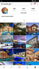 Instagram Account 🔥 100 Posts Luxury Houses 🔥 REAL & ACTIVE