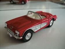 ERTL 1960 Chevrolet Corvette in Red on 1:43