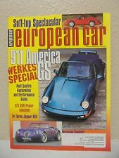 European Car December 1993  automotive magazine 911 American GS