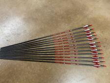 "Bloodsport Hunter 400 Arrows 31"" w/ 2 in. Vanes & Inserts - 12 Pack"
