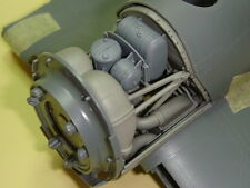 "Gmalb 3202 1/32 Corsair f4u-1 ""Birdcage"" Engine Accessory Bay Tamiya TRUMPETER"