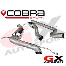 SE38 Cobra Seat Ibiza Cupra Bocanegra 1.4 TSI 10-14 Cat Back Exhaust Resonated