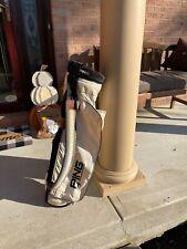 Vintage Classic Ping Karsten Golf Bag White Lightweight Single Strap